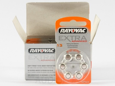 Bateria Rayovac typ 13 Extra Advanced - blister 60 szt.