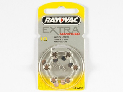 Bateria Rayovac typ 10 Extra Advanced - blister 6 szt.